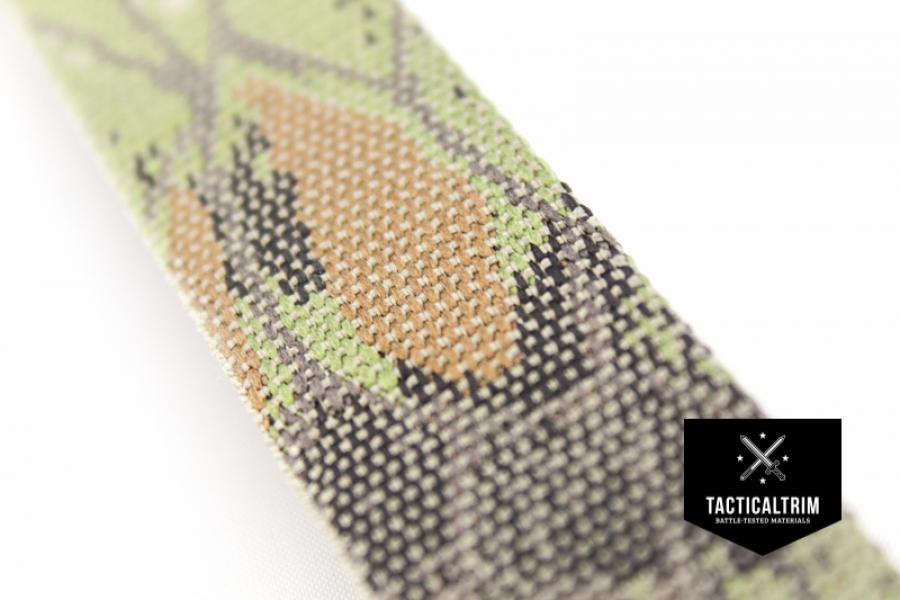 polyester gurtband kryptek mandrake 50mm gewebt meterware 2 98 eu. Black Bedroom Furniture Sets. Home Design Ideas