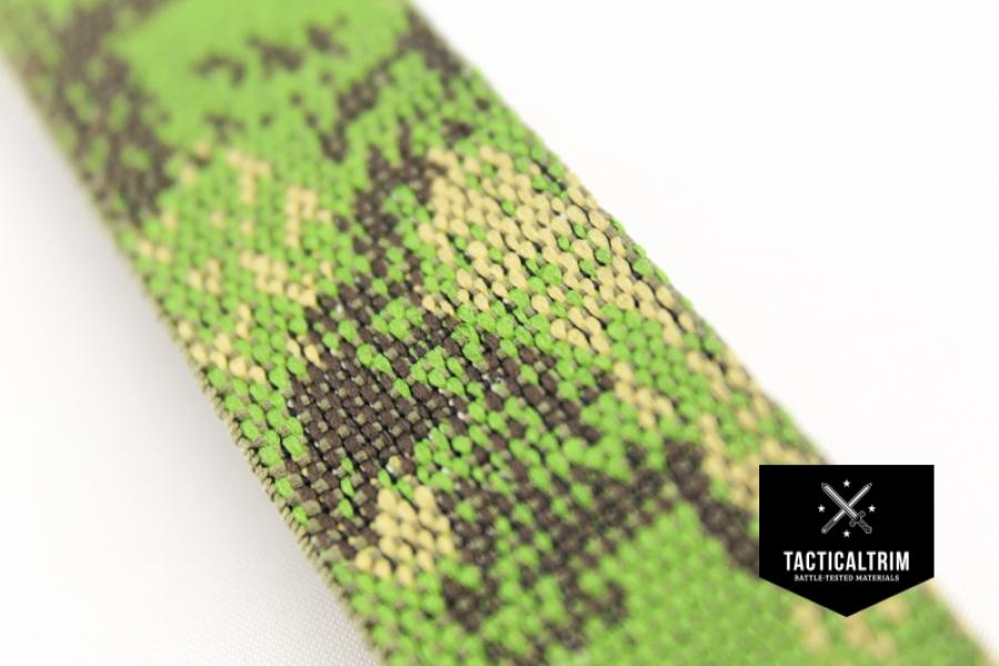 polyester gurtband pencott greenzone 25mm gewebt meterware 2 93 e. Black Bedroom Furniture Sets. Home Design Ideas
