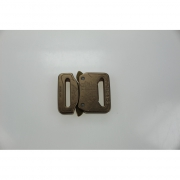 SALE FC25CFF-ELOX AustriAlpin Cobra Buckle 25mm Coyote Brown anodized fix, standard clips
