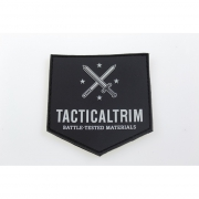 Tacticaltrim 3D PVC Patch black 7,5 x 7,5cm