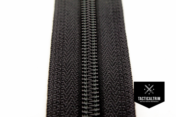 YKK 8C Zipper by meter impregnated