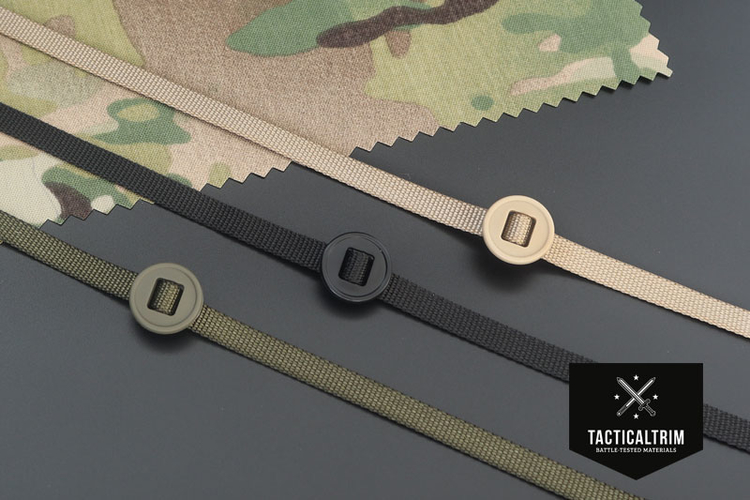 Slotted button 19mm