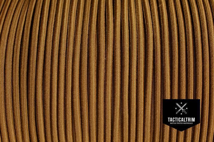 Meterware Shock Cord 1/8, Farbe COYOTE BROWN