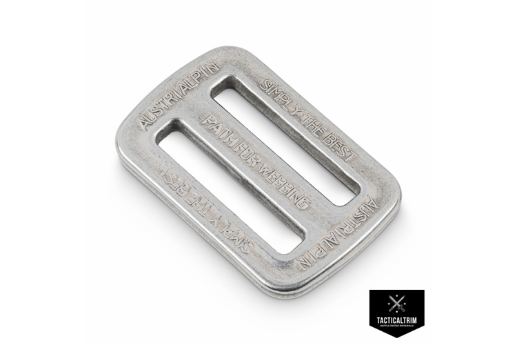 FC06A AustriAlpin 2-slots Buckle 25mm  polished
