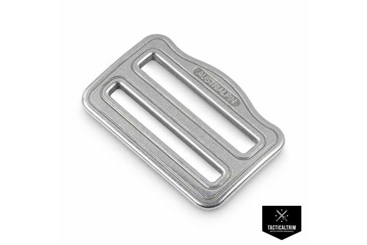 FC42A AustriAlpin Asymmetrical 2-slots Buckle 45mm  polished
