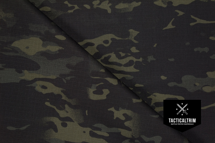 Multicam Black 50/50 NyCo CUSTOM CUT