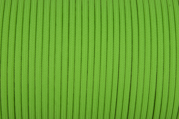 15m Hank Type III TACTICALTRIM Cord in color NEON GREEN