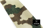 Polyamid Webbing 3 color Flecktarn 1, Single-Side Printed, CUSTOM CUT