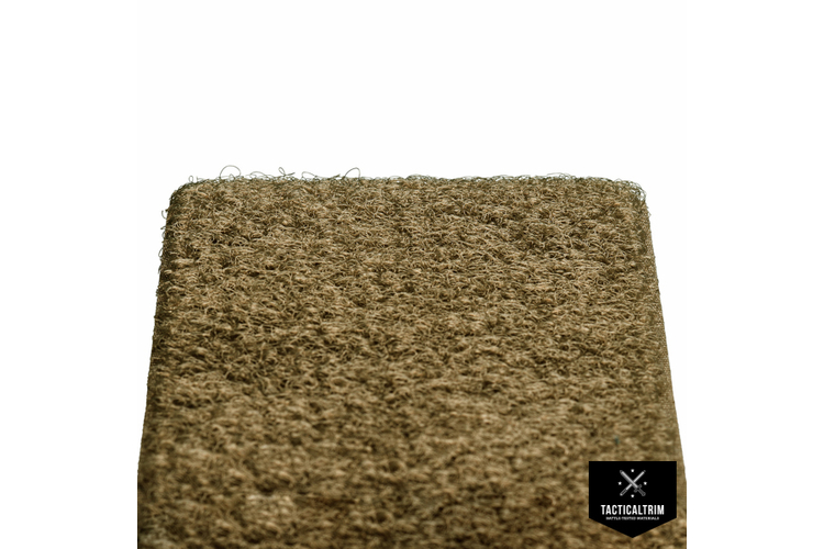VELCRO® Flausch, Coyote Brown 498, 20mm, Meterware