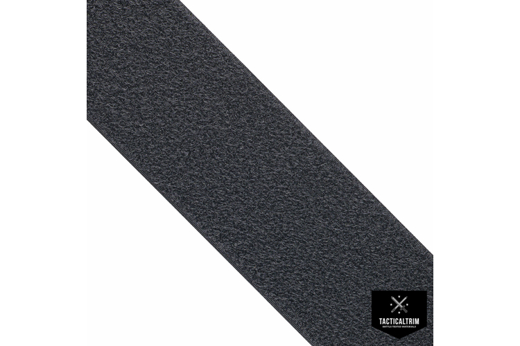 VELCRO® Loop, Black, 1 (25mm), CUSTOM CUT