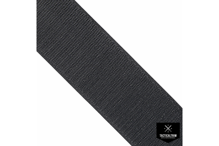 VELCRO® Hook, Black, 1 (25mm), CUSTOM CUT