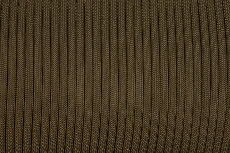 150m Rolle Type III TACTICALTRIM Cord, Farbe COYOTE BROWN