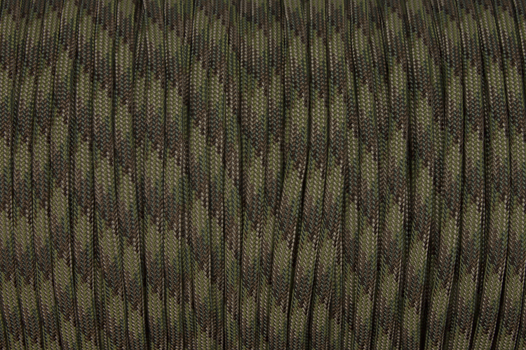 150m Rolle Type III TACTICALTRIM Cord, Farbe MULTICAM