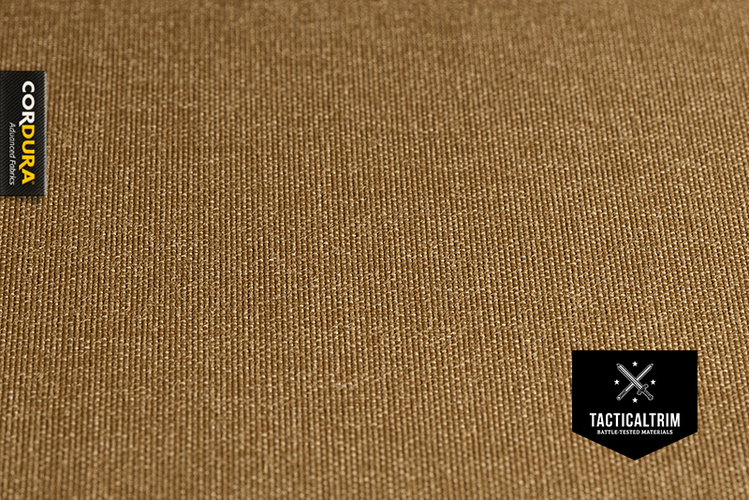 Coyote Brown 560dtex INVISTA CORDURA® PU coated CUSTOM CUT