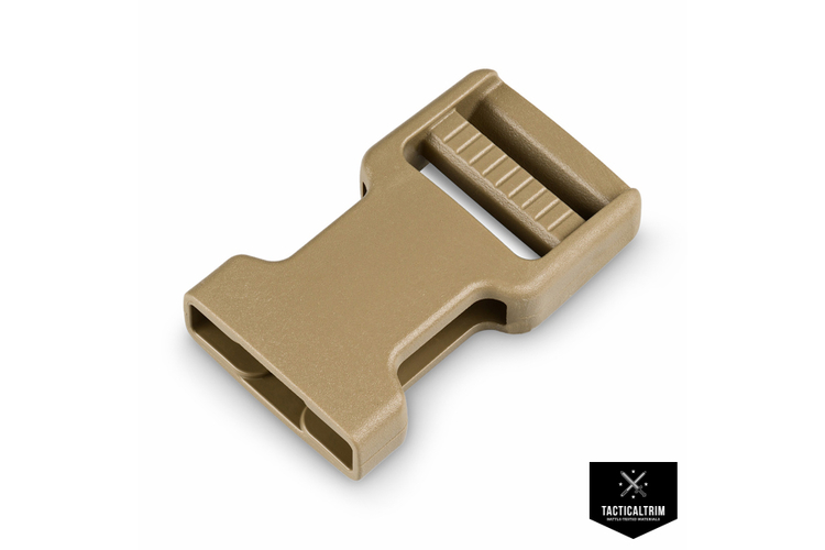 WB25 Female Ladderloc 2M Warrior-Series 25mm Tan 499