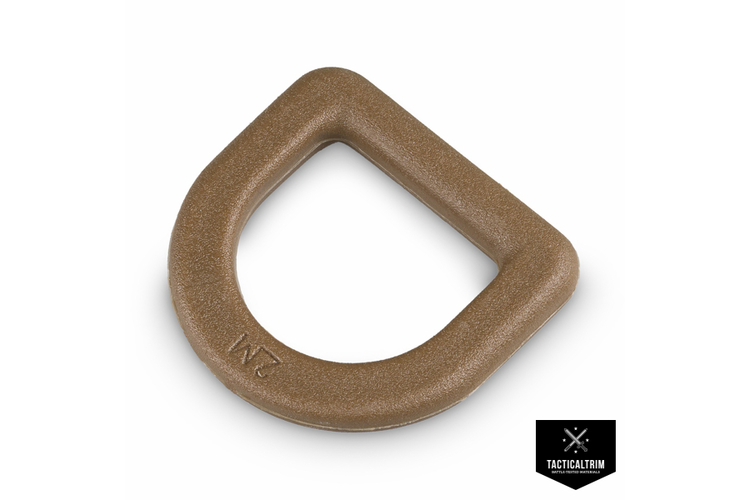 D-Ring 2M SA-Serie 20mm Coyote Brown