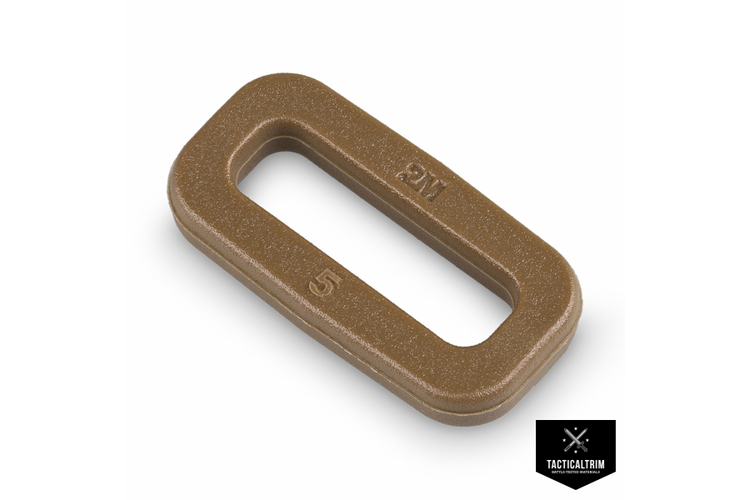Rechteckring 2M OS-Serie 20mm Coyote Brown