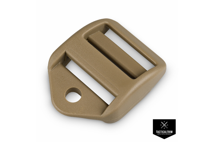 Ladder Lock with Cord-Hole 2M LS-Series 25mm Tan 499