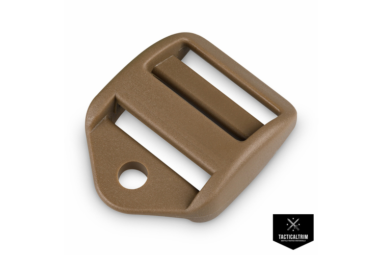 Ladder Lock with Cord-Hole 2M LS-Series 25mm Coyote Brown