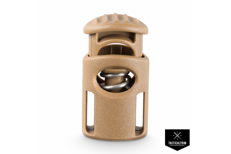 Cord Lock  F4/Military 2M F-Series  Coyote Brown