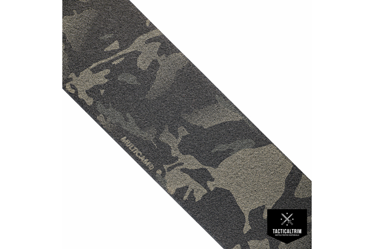MMI Flausch  100mm Multicam Black